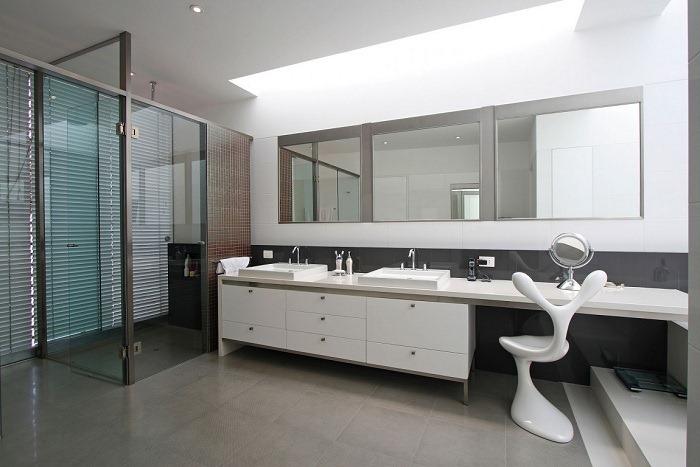 Взамодействие между пространствами: современный дом в Лиме, спроектированный Seinfeld Arquitectos