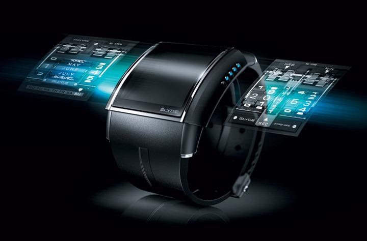 """Часы со """"сменным дисплеем"""" Slyde HD3"""