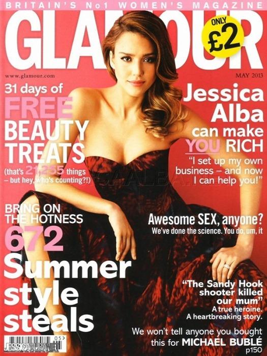 Джессика Альба для Glamour UK