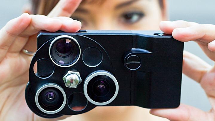 Три фотообъектива для iPhone