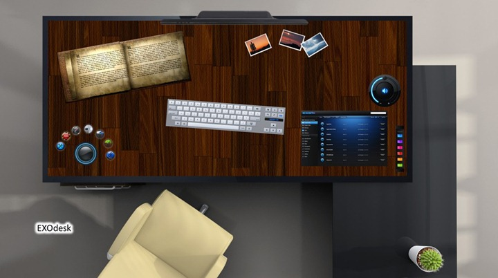Стол планшет EXOdesk диагональю 40 дюймов