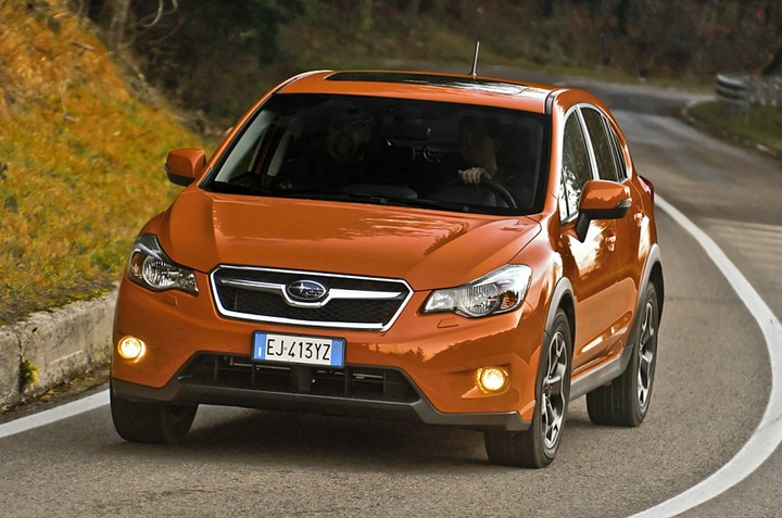 Новичек от Subaru: кроссовер XV Crosstrek