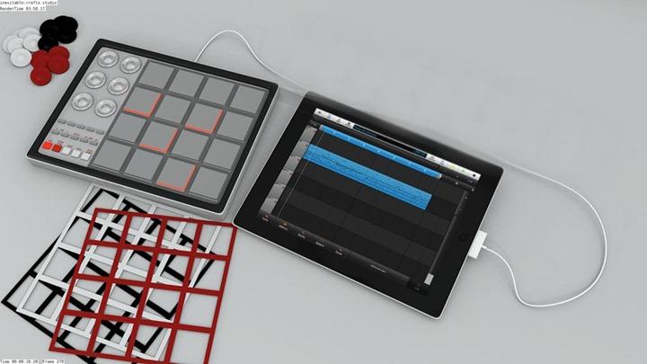 Чехол, превращающий iPad в профессиональный семплер