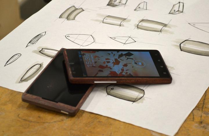 Бамбуковый Android смартфон ADzero
