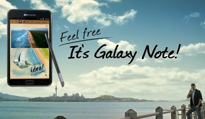 Флагман Samsung Galaxy Note анонсирован для России