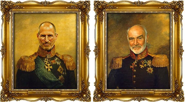 Знаменитости в образе генералов