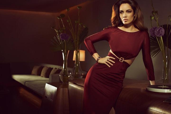Беренис Марло в рекламе часов Omega