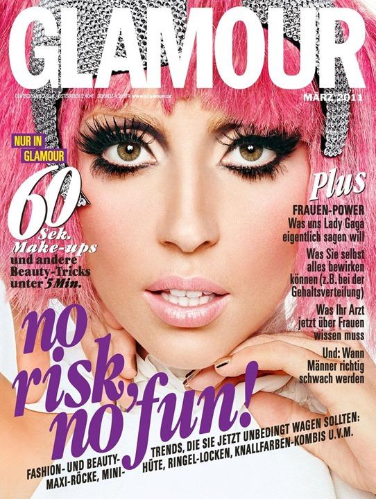 "Знаменитости на обложке женского журнала ""Glamour"""
