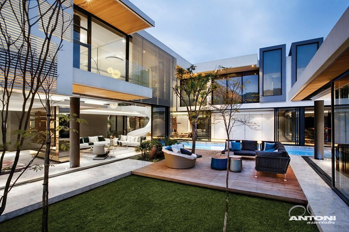 Роскошный дом в ЮАР от студии SAOTA