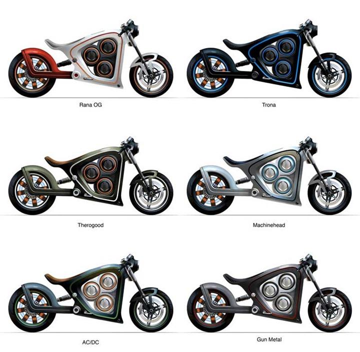 Техномотоцикл Frog Rana 2