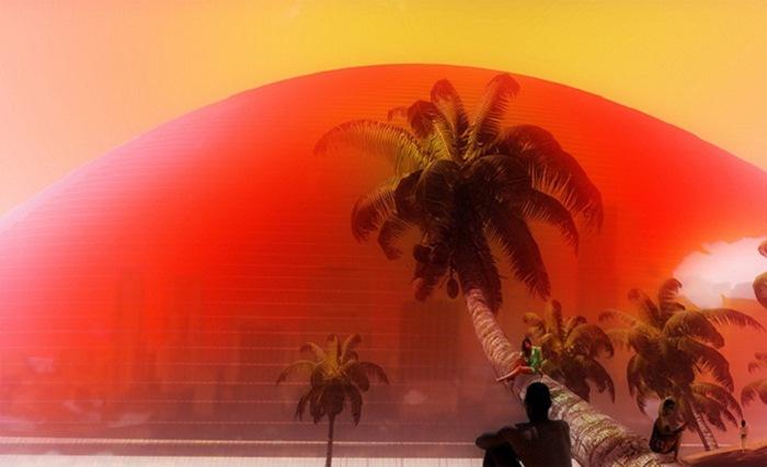 Искусственное «Солнце Майами»