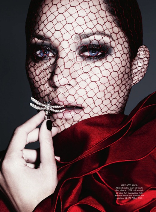 """Женщина года по версии Harpers Bazaar Марион Котийяр: """"Свое счастье я нашла в семье"""""""