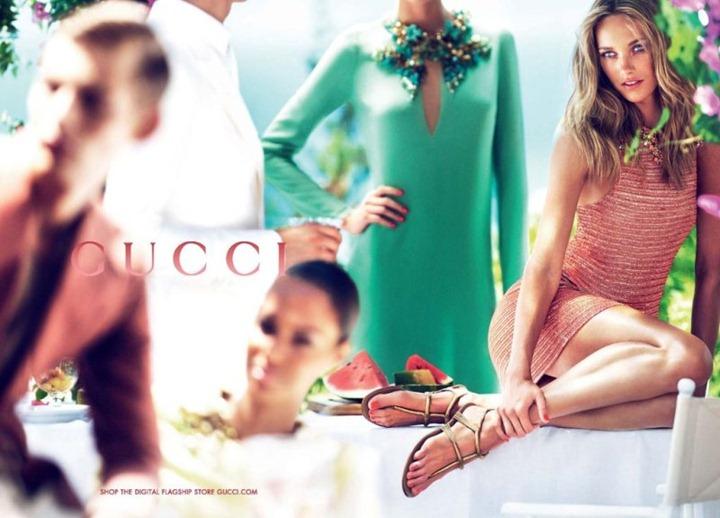 Рекламная кампания Gucci Cruise