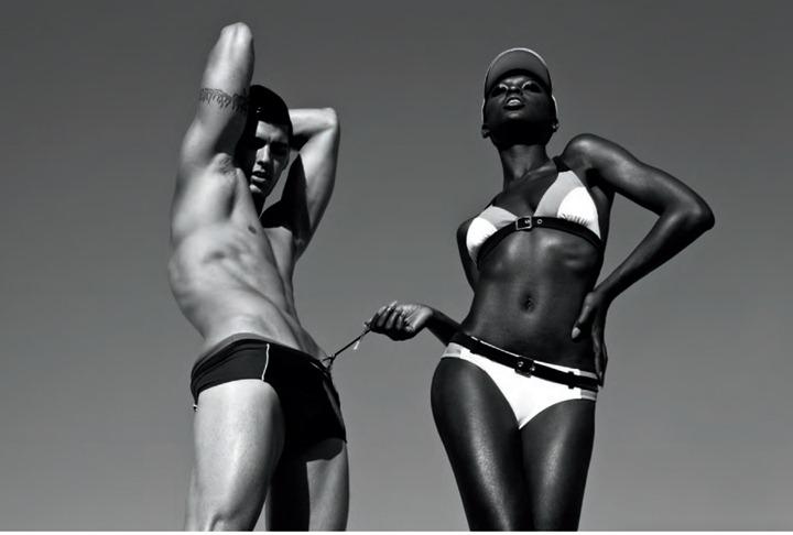 "Яркая фотосессия ""Black and White"" от фотодуэта GnL Studios"