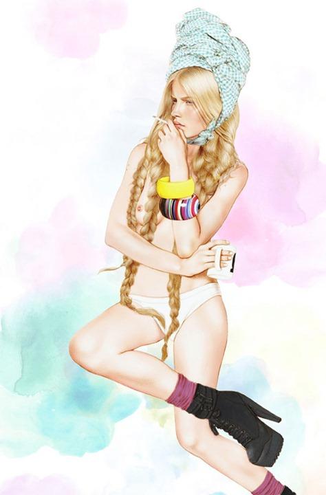 Иллюстрации Минни Хавас (Minni Havas)