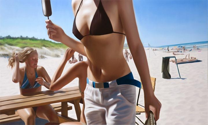 Летнее настроение в картинах Kasia Domanska