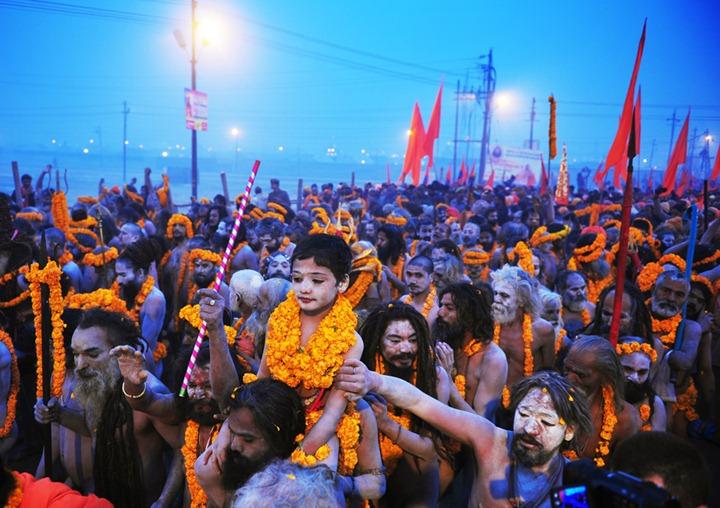 Фестиваль Маха Кумбха Мела