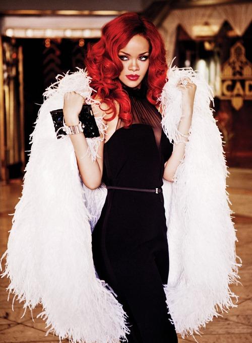 Rihanna в объективе Эллен фон Унверт