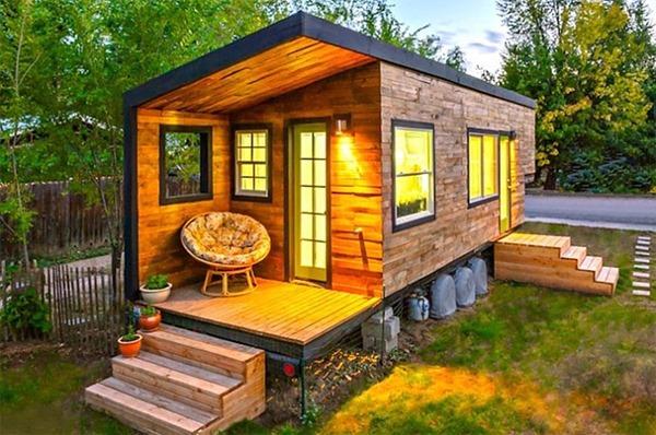 Крошечный дом, построенный с нуля за $ 11 000