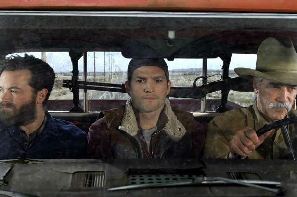 Эштон Катчер в трейлере сериала «Ранчо»