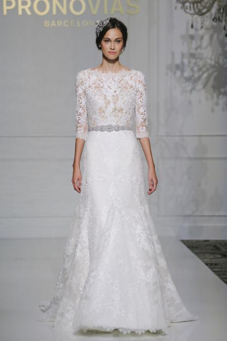 Pronovias осень зима 2016/2017 – свадебные платья