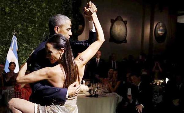 Танец в исполнении Барака Обамы