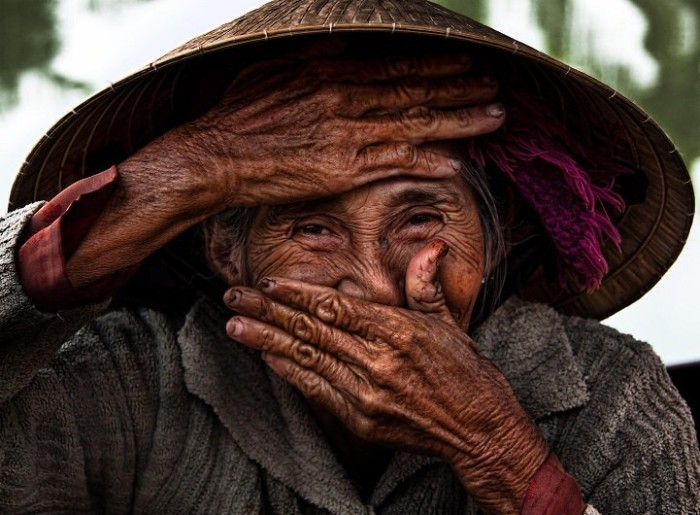 Счастливые эмоции Вьетнама