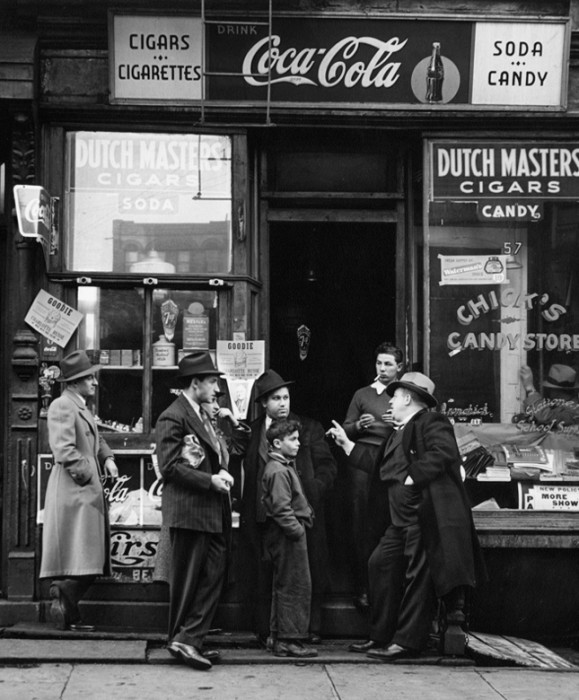 Фотографии Нью Йорка в ХХ веке