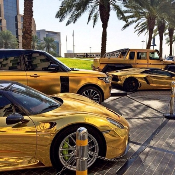 «Золотые» машины Лондона