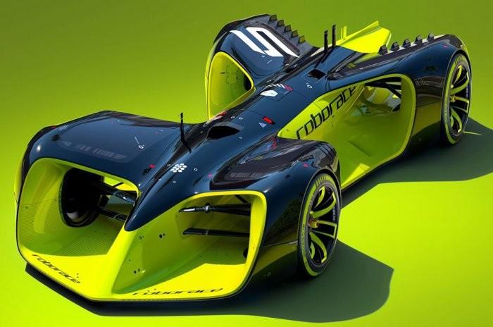 Первая в мире беспилотная гоночная машина