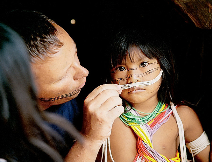 Традиции колумбийского племени марубо
