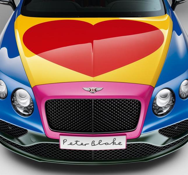 «Разрисованный» кабриолет Bentley