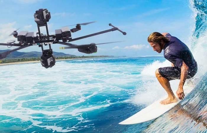Беспилотник нового поколения: панорамное 3D видео