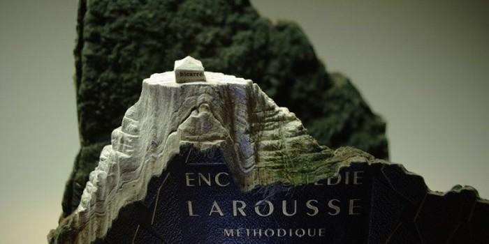 Скульптуры из книг канадского художника