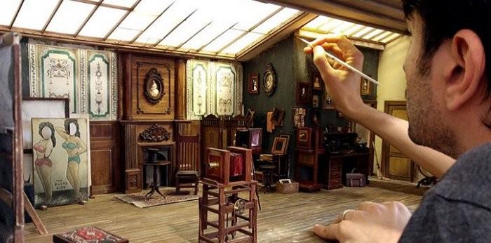 Миниатюрная фотостудия в исполнении турецкого мастера