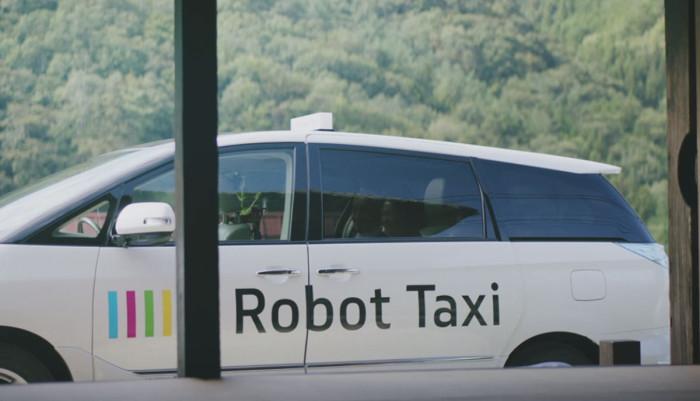 Беспилотное такси в Токио