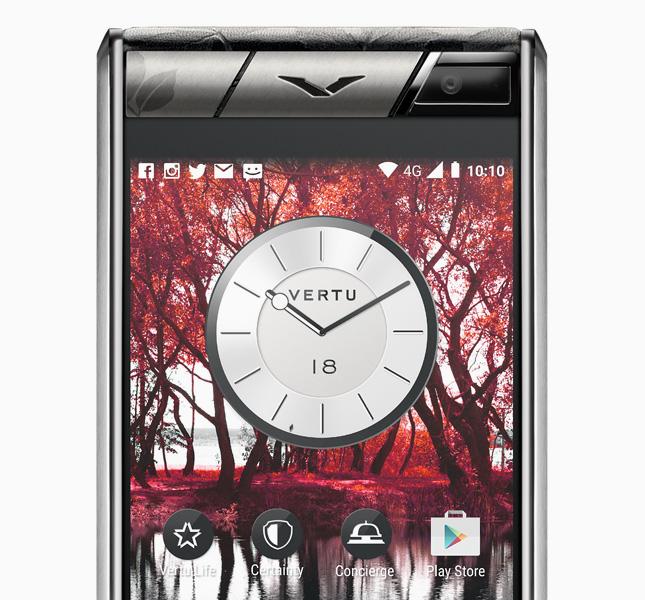 Телефон Vertu Aster Leaf: эксклюзив