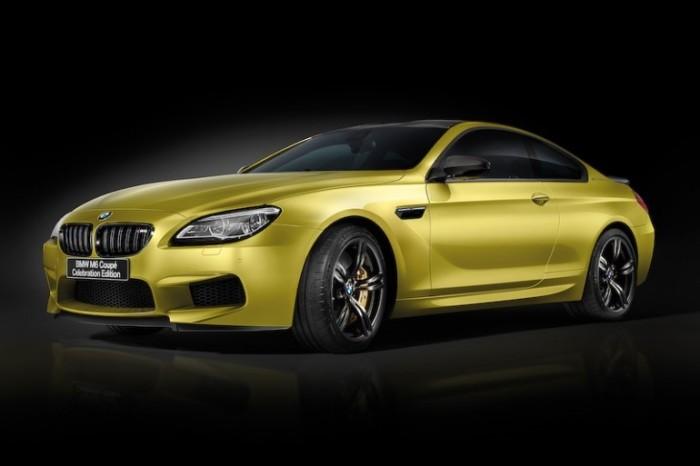 BMW создал эксклюзив M6 Coupe в честь юбилея компании