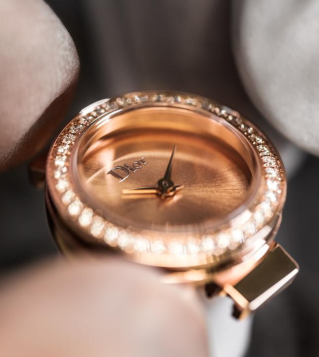Ювелирные часы La D de Dior