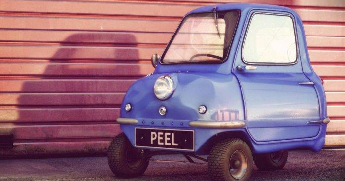 Самая маленькая в мире машина