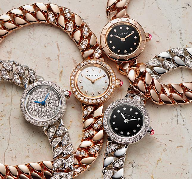 Дорогие женские часы Bvlgari