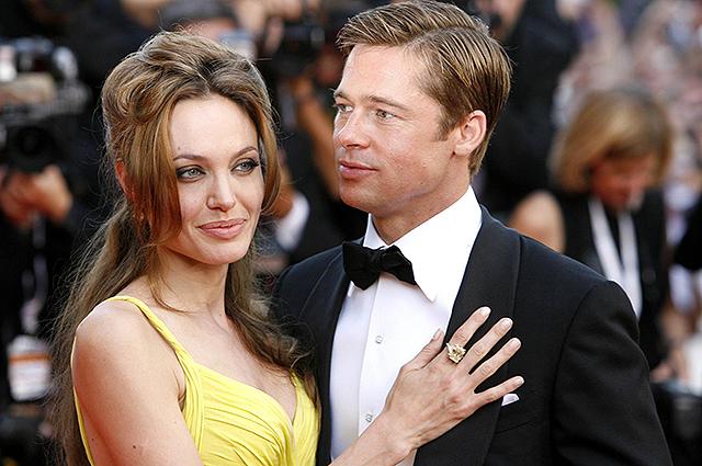 Развод Анджелины Джоли и Брэда Питта