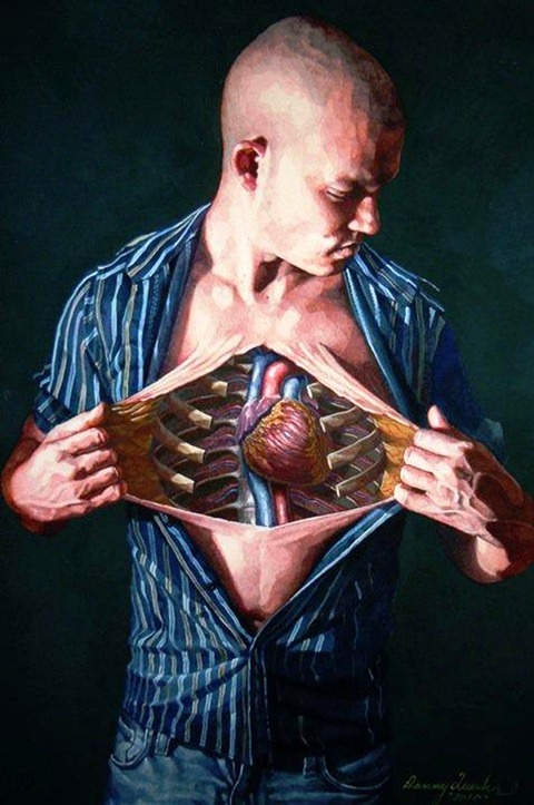 Сюрреалистические картины Danny Quirk