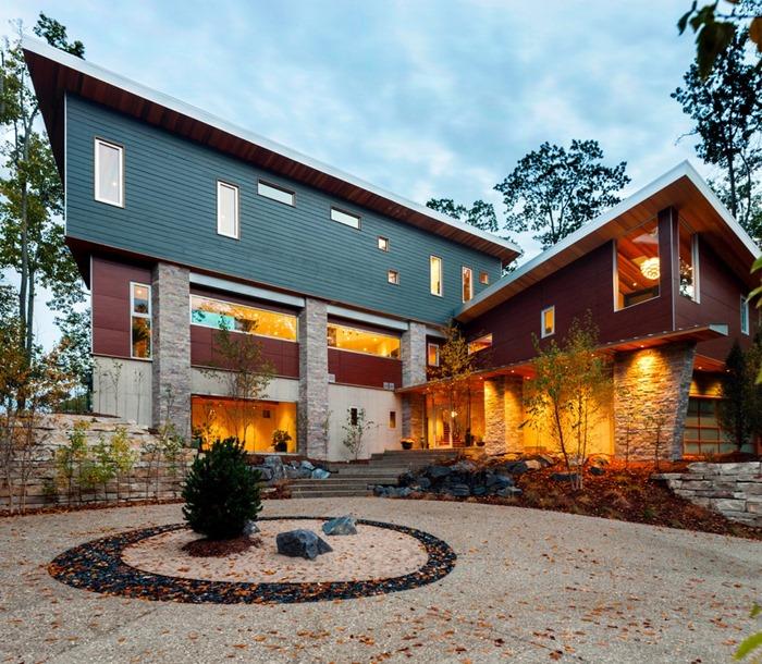 Современная комфортная резиденция на озере Мичиган