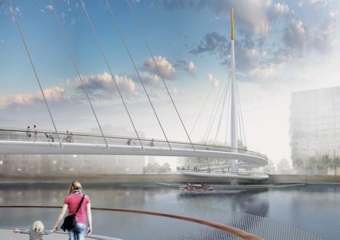 Первый мост для пешеходов   Nine Elms Bridge