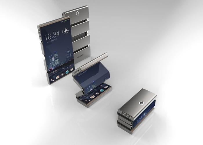 Складной телефон Drasphone