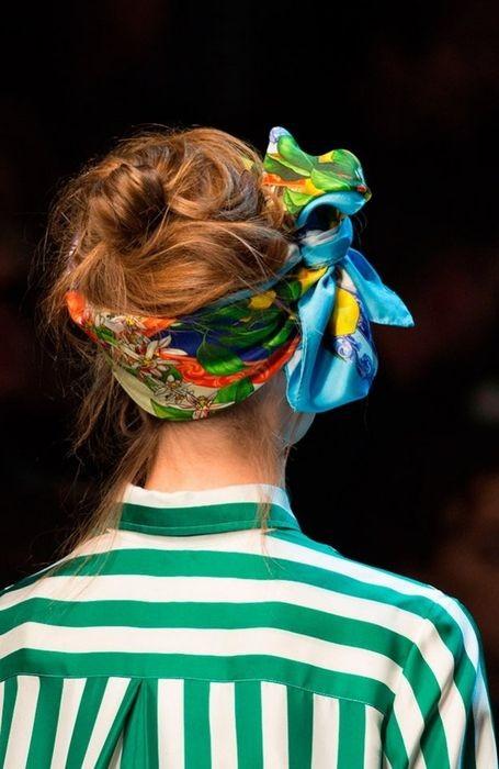 Главная вещь сезона: 15 способов завязать платок на голову