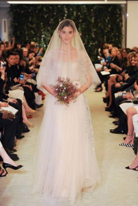 Свадебная коллекция 2016: Carolina Herrera