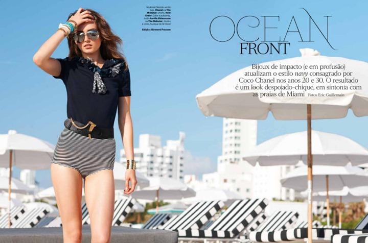 Andreea Diaconu в Vogue Brasil
