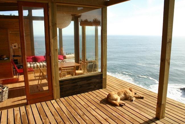 Резиденция на берегу Тихого океана